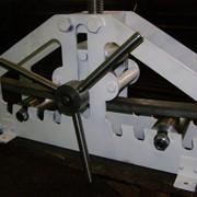 Ручной трубогиб профильной трубы фото