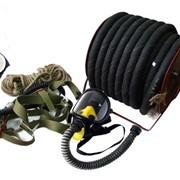Противогаз шланговый ПШ-20РВ с маской ППМ-88 (резиновый шланг) фото