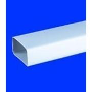 Воздуховод пластиковый прямоугольный 55 * 110 фото
