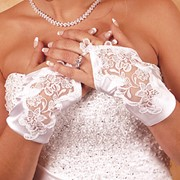 Свадебные перчатки фото