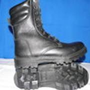 Ботинки с высокими берцами с наружним мягким кантом. фото