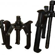 Съемник двух-трехлапый комбинированный, лапа прямая, кованая, двухсторонняя. МАЛЫЙ фото