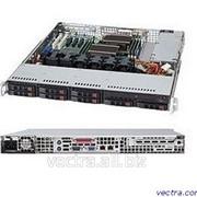 Supermicro Server Chassis 1U 600W BLACK (CSE-113TQ-600CB) фото