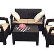 Комплект мебели Yalta Terrace Set (Set) с подстаканниками фото