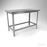 СПО (по) -10-6 Стол производственный (1000х600х870 мм.) (обвязка) фото