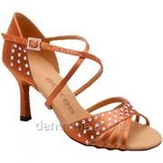 Eckse Обувь женская для латины Патрис, кедр сатин фото