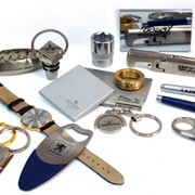 Лазерная гравировка (металл, пластик, кожа) или покрытия (краска, гальваника, напыления) фото