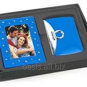 Подарочный набор: рамка для фотографии , зеркало фото
