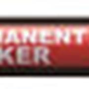 Маркер перманентный UNI 320F, красный, наконечник пулевидный, 1.0-3.0 мм. фото