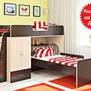 Кровать двухъярусная Легенда 3.4 фото