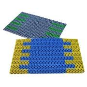Ковры-решетки из ПВХ модульные грязезащитные фото