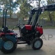 Погрузчик ПТМ-0.4 на малогабаритные трактора 320.4 и аналоги фото