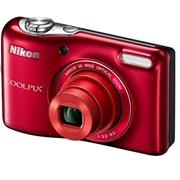 Цифровой фотоаппарат Nikon, S2800, красный фото