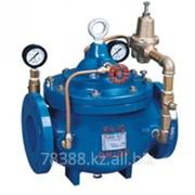 Регулятор давления чугунный фланцевый после себя 200Х-9, Ду 150 мм, Масса 55 кг, Длинна 403 мм фото