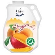 Йогурт питьевой с абрикосом и манго 1,5%, 900г фото