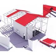 Склад из легких металлоконструкций в Кишиневе фото