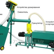 Малая линия гранулирования биомассы MGL 100/ 200 / 400 / 600 / 800 фото