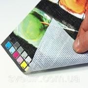 Печать на баннерной сетке mesh фото