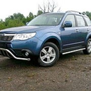 Пороги Subaru Forester 2008-2013 (труба 60 мм) фото