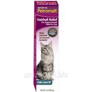 Паста для котов со вкусом рыбы SENTRY Petromalt Hairball Relief Fish, ВЫВЕДЕНИЕ ШЕРСТИ, 0.056 кг фото