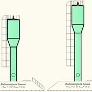 Башни водонапорные, Стеклопластиковые башни водонапорные. фото