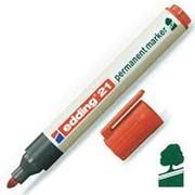 Маркер Edding 21 EcoLine, перманентный, круглый, 1,5-3 мм, 4 цвета в наборе, ассорти фото