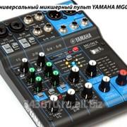 Аренда микшерного пульта YAMAHA MG06X. фото