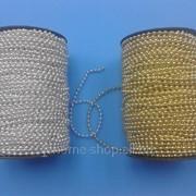 Бусины акриловые имитация жемчуга в рулоне 4 1рул - 46м 6369 фото