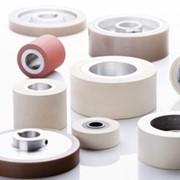 Резиновые термостойкие ролики для деревообрабатывающего оборудования фото