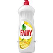 Средство для мытья посуды Fairy 1L. Sensitiv, Pomegranate & Red Orange, Lemon. фото