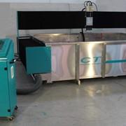 Cтанок гидрообразивный для водоструйной резки EXP портального типа с насосом KMT 50HP Jetline фото