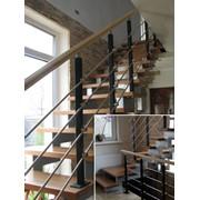 Лестница открытая фото