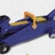 Домкраты гидравлические подкатные, 2т +кейс, AUTOVIRAZH, синий фото
