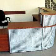 Ресепшн-стол на заказ фото