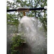Установка систем туманообразования фото