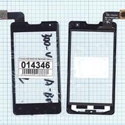 Сенсорное стекло (тачскрин) для DNS S4003 300-V4402A-B00 черный, Диагональ 4, 480x800 фото