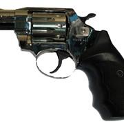 Револьвер ALFA 420, никель, пластиковая рукоятка фото