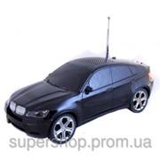 Портативная колонка MP3 USB MicroSD BMW X6 Black AT-9012 par001304 фото