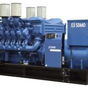 Дизельные генераторы SDMO модели X800 фото