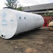 Одностенный резервуар 25 кубических метров фото