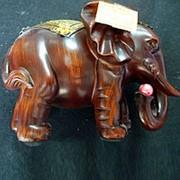 Сувенир Слон 1868 11х15,5 см. фото