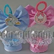 Сувенирная детская упаковка шарик 12 см 570703 фото