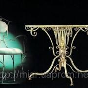 Кованая мебель под заказ. фото