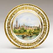 Декоративная тарелка 'Cимонов монастырь' фото