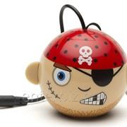 Колонка KitSound Mini Buddy Speaker Pirate Pink (KSNMBPIR), код 129419 фото