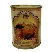 Консервы мясные Говядина тушеная охотничья в соусе ТУ BY 500011238.045-2006 фото