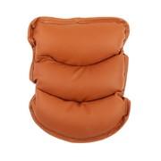 Подушка на подлокотник, экокожа, коричневый фото