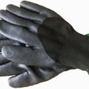Перчатки нитриловые. фото