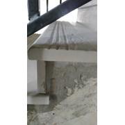 """""""Искусственный мрамор"""" из бетона на бетонной лестн фото"""