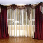 Пошив штор и ламбрекенов фото